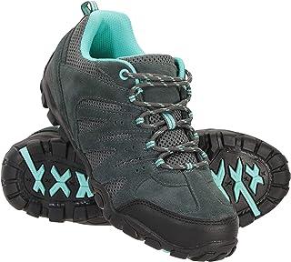 Mountain Warehouse Zapatillas de Senderismo para Mujer - Transpirables, con Malla Superior, Suela de Goma Duradera y Plant...