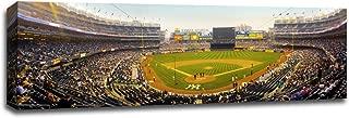Yankee Stadium at Dusk - MLB - Baseball Field - Gallery Wrapped Canvas 48x16