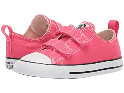 Converse Kids Chuck Taylor(r) All Star(r) 2V Seasonal Ox (Infant/Toddler) (Strawberry Jam) Girls Shoes