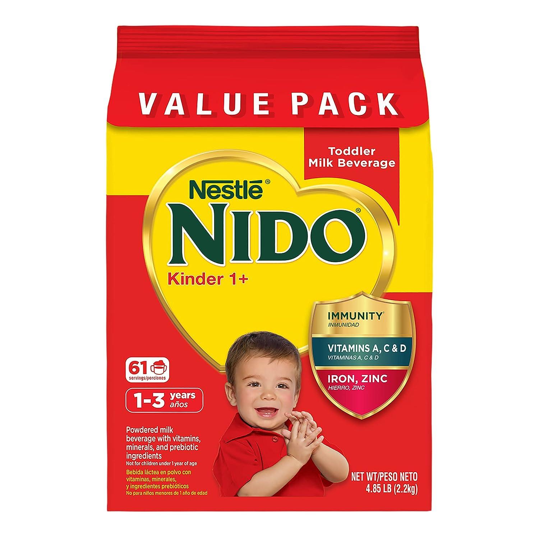 Nestle New color NIDO Kinder 1+ Toddler LB bag New products, world's highest quality popular! 4.85 Milk Beverage