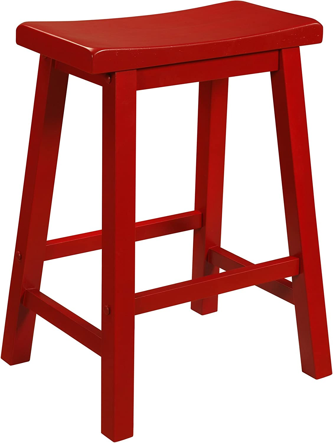 color Story Saddle Counter Stool