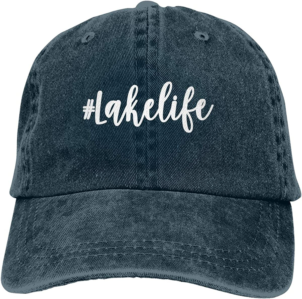 Free shipping anywhere in the nation OASCUVER Printed Lake Life Hat Cotton Adjustable Beac Jacksonville Mall Distressed