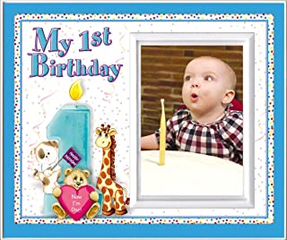 My First Birthday - Picture Frame Gift - Boy