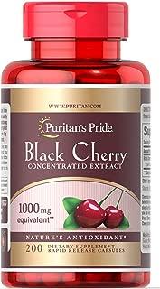 Puritan's Pride Black Cherry Extract 1000 mg-200 Capsules