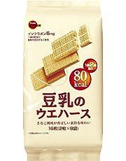 ブルボン 豆乳のウェハース 16枚×6個