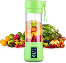 [Upgraded Version] Personal USB Juicer Cup ,Portable Juicer Blender ,Household Fruit Mixer - Six Blades in 3D,Rechargeable...