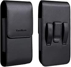 Yuzihan Holster Fit for iPhone 11 iPhone 11 Pro Max iPhone Xs Max Holster 8 Plus 7 Plus 6S Plus Belt Holster Pouch Fit for Phone with Thick Dual Layer Defender Case Hybrid Armor Case Battery Case On