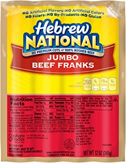 Best kosher beef hot dogs Reviews