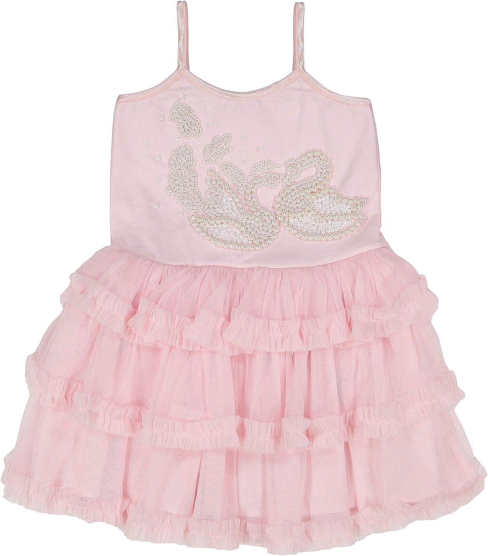 Masala Kids Girls' Toddler Swan Song Tulle Dress