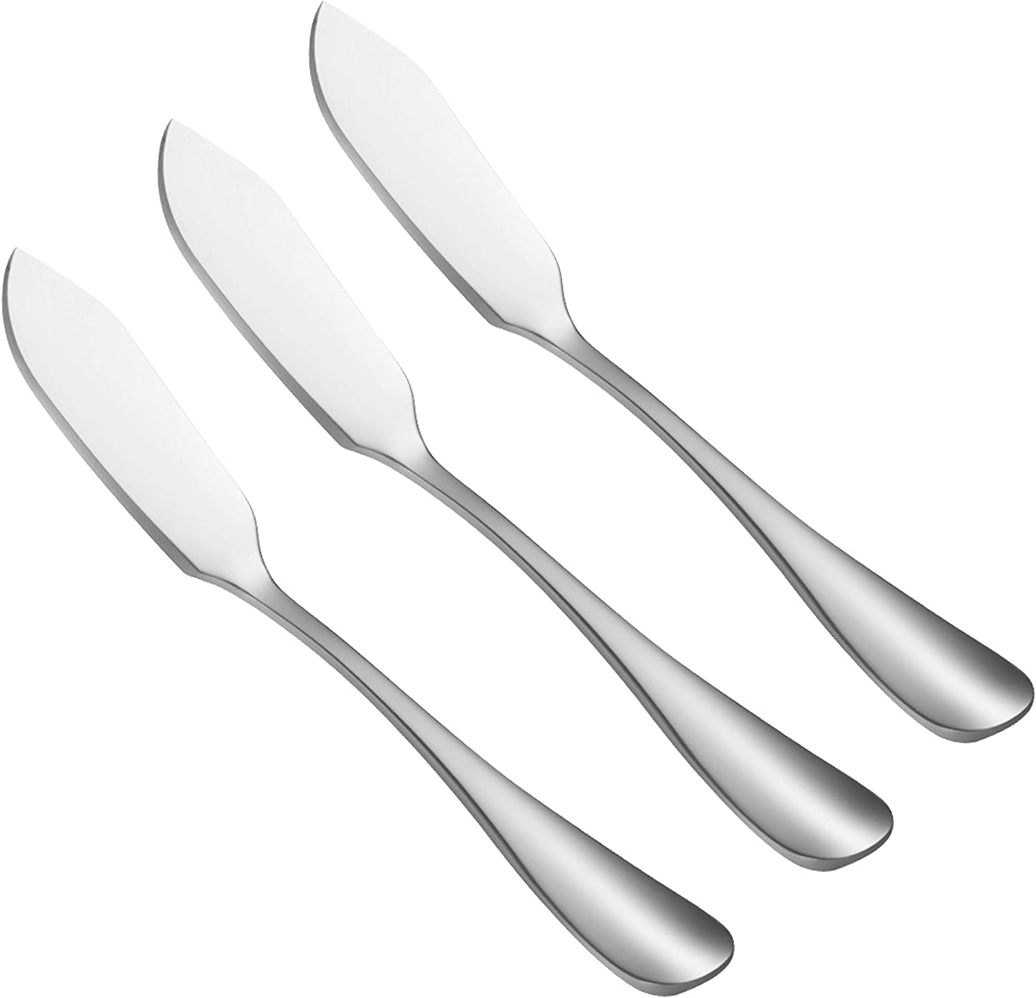 KISTVO Set of 3 Stainless Spreader Steel Knife Surprise price Challenge the lowest price of Japan ☆ Butter Practical