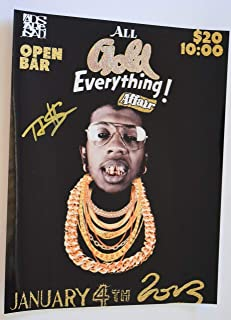 TRINIDAD JAMES Signed Autographed 11x14 Photo Hip Hop ALL GOLD EVERYTHING COA VD