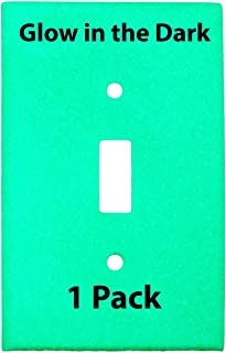 glow in the dark light switchplates