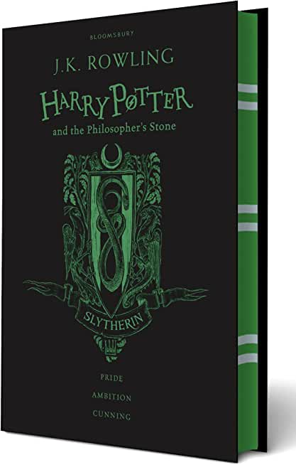 Harry Potter and the Philosopher's Stone: Slytherin Edition; Black and Green