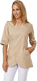 gr SIGGI Taglia: XL 130 Casacca Cassandra donna in poliestere//cotone colori vari Peso al mq Varianti: bianco Una tasca e laccio di chiusura