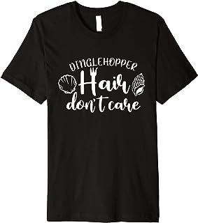 Dinglehopper Hair Don`t Care Mermaid Beach Shirts For Kids Premium T-Shirt