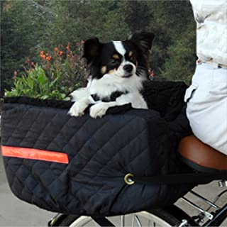 snoozer pet rider rear bicycle seat black