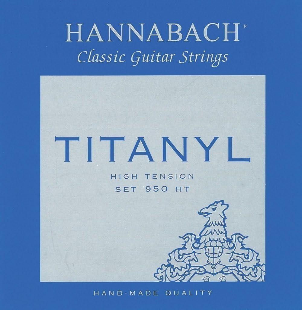 Hannabach Cuerdas para guitarra clásica, Serie 950 Tensión Alta Titanyl - cuerda suelta G3/Sol3