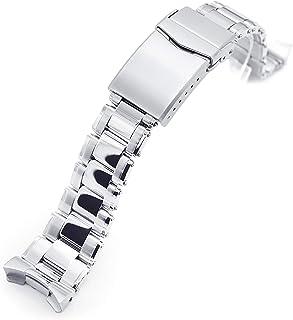 Cinturino in metallo per Seiko SKX007 spazzolato e lucidato