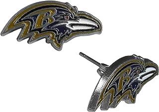 baltimore ravens stud earrings
