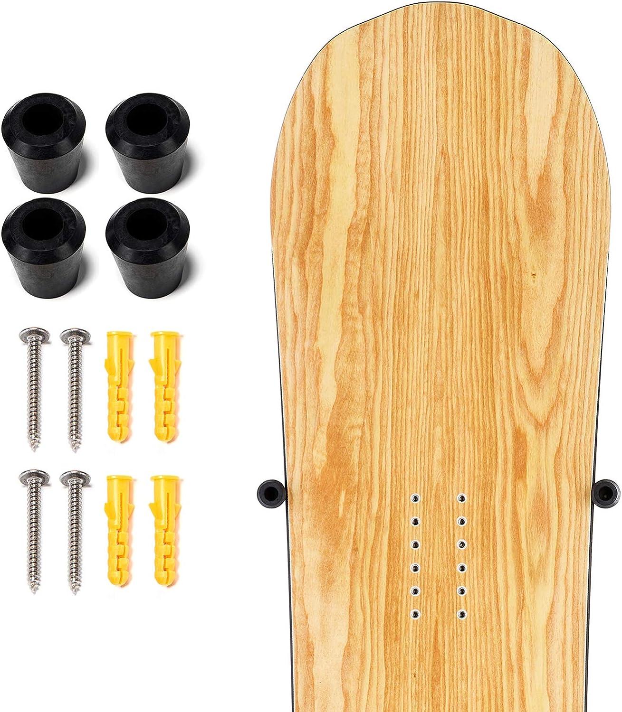 XCMAN Snowboard Skateboard Wall Mount Bullet Display Hanger Indoor Snowboard Storage Racks : Sports & Outdoors