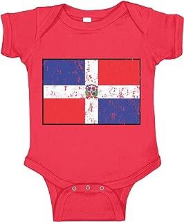 Amdesco Dominican Republic Flag Infant Bodysuit
