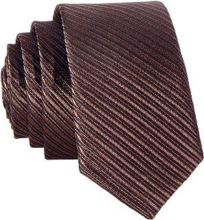Uomo Made In Italy Cravatta Lunga Extra Lunga XL in Seta Unito Spigato Remo Sartori Lunghezza da 155 cm a 175 cm