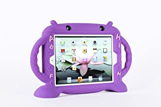 iPad 2 Case, iPad 3 Case, iPad 4 Case-kids Ipad Cover 9.7 inch for Ipad 2 3 4, Cute Robot Shockproof Washable Silicone Cas...