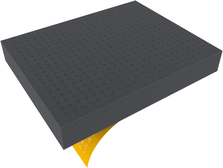 FS050RS 50 mm (2,0 Inch) Figure Foam Tray Full-Size Raster Self-Adhesive