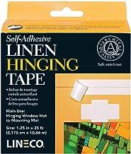 """Zelfklevend linnen Hinging Tape-White 1.25"""" X35'"""