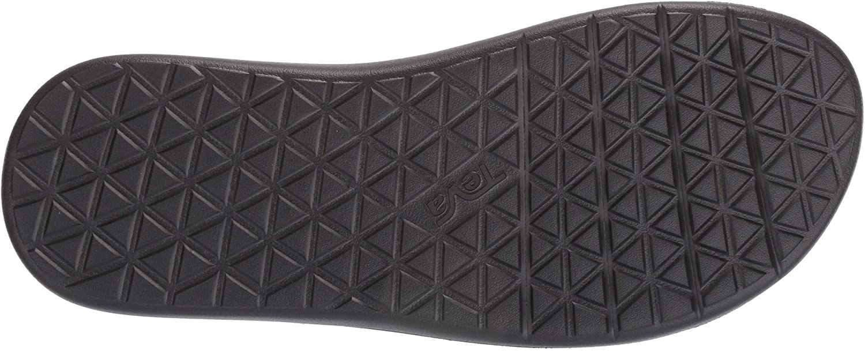Teva DE Voya Slide Leather Sandal Mens Bout Ouvert Homme Action Sports