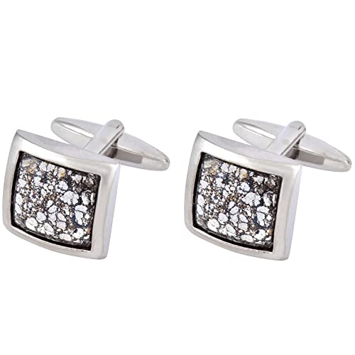 f776d6f97ace Premium Designer Cufflinks with Swarovski Crystals - Ideal Gift for Men -  Comes In Gift Box