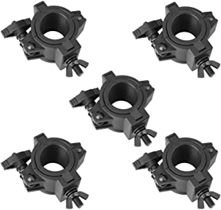 mountain ark 5 Pack 33lb Stage Light Clamps for DJ Lighting Products Par Light Plastic O Clamp Fit 3 Size Pipe Diameter: 25mm(F14) 36mm(F24) 48mm(F34)