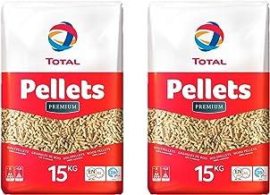 2 Säcke TOTAL Premium Holz Pellets je 15 kg Holzpellets