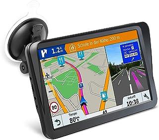 Car GPS Navigation, 9-inch HD Display with Sun Visor GPS Navigation 8GB 256MB Satellite Navigation, Voice Navigation Lane,...