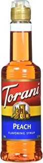 Torani Peach Syrup 12.7 Fl Oz (Pack of 1)