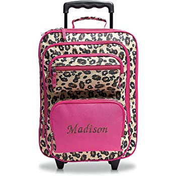 Personalized Zebra /& Floral Kids Backpack