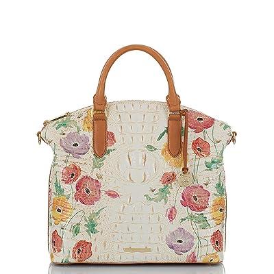Brahmin Papaver Large Duxbury Satchel (Multi) Handbags