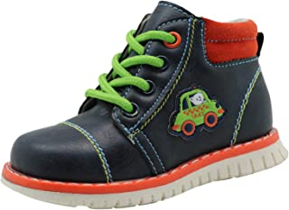 Ying-xinguang Kid's Shoe Casual Boys Spring Autumn Lace-up Martin Boots (Toddler/Little Kid) Comfortable