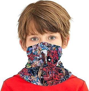 Avenge Super-Heroes Kids Neck Gaiters Kids Summer Face Cover For Children Boys Girls Bandanas Face Scarves Headband