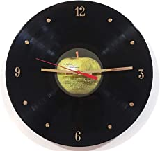 The Beatles Vinyl Record Clock (Apple Label)