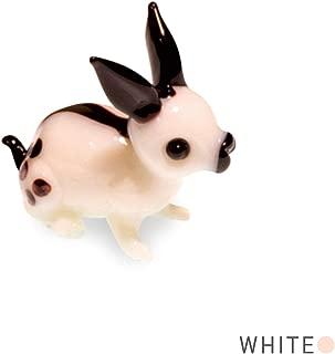 Tynies Animals Bit - Rabbit * Colors May Vary * Glass Figure