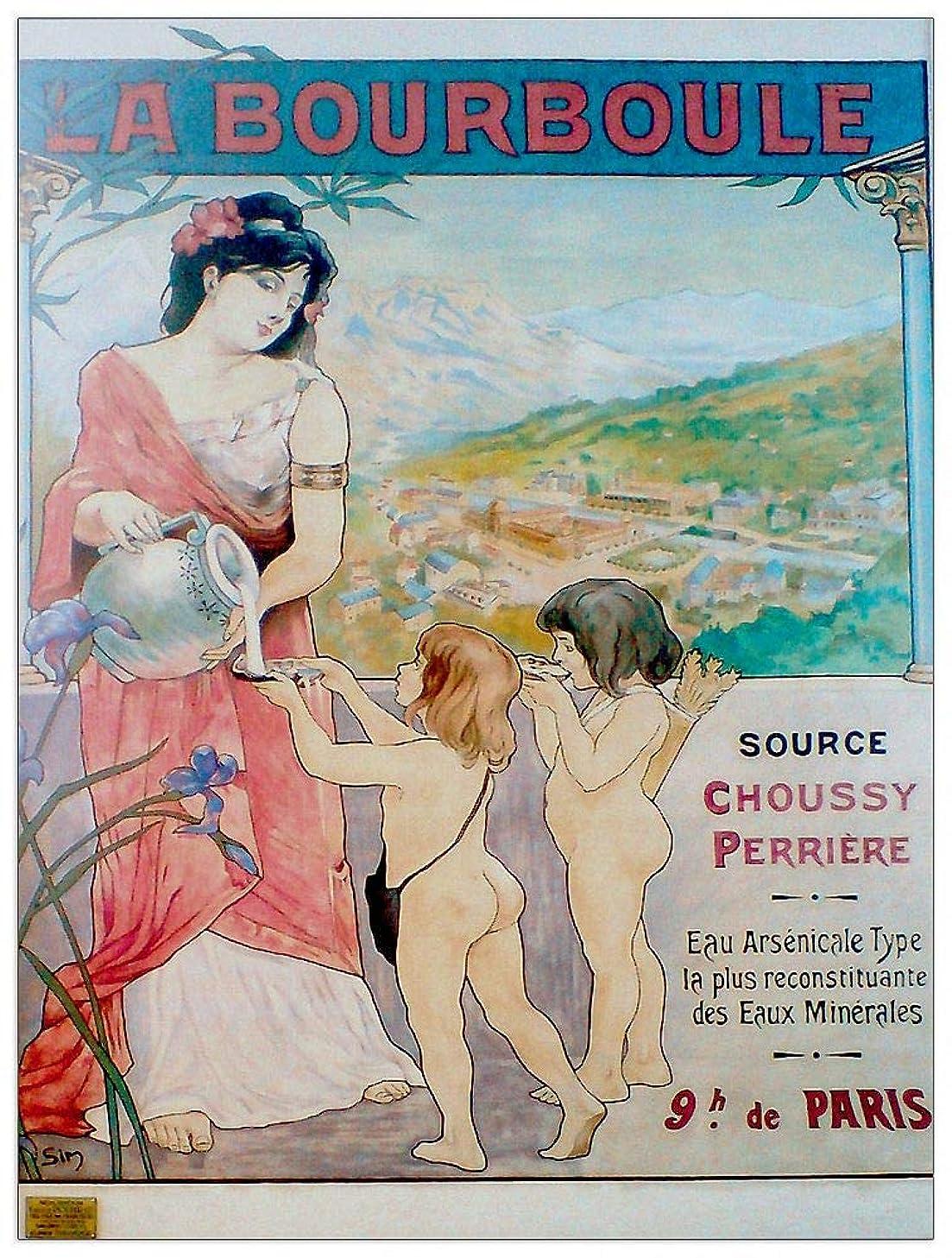 ArtPlaza TW91610 La Bourboule Decorative Panel 27.5x35.5 Inch Multicolored