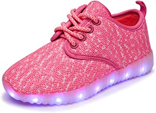 LED Light Up Shoes USB Charging Glowing Sneakers for Kids Boys Girls