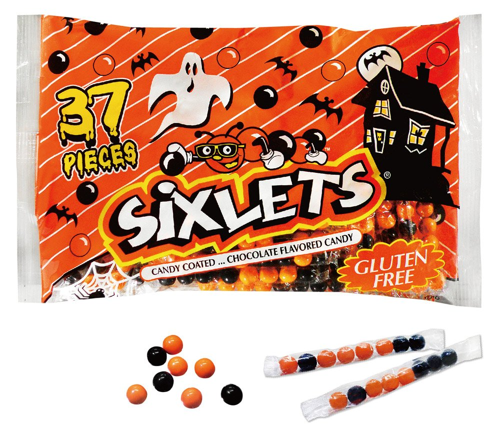 Trick Or Treat Bulk Sixlets Colored Ranking TOP9 Multi Wrapped Fresno Mall Individually