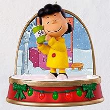 Hallmark Keepsake 2018 A Charlie Brown Christmas Lucy Ornament with Sound and Light