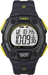 Timex Ironman Classic 50-Lap Full-Size Watch - Gray/Black/Yellow (56634)