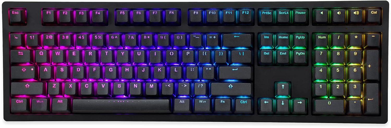 iKBC MF108 v3 RGB LED Mail order Phoenix Mall cheap Backlit with Cherry Keyboard Mechanical MX