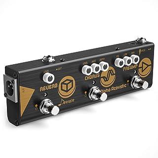 Donner Multi Effect Pedal Chain Alpha Acoustic 3 Guitar...