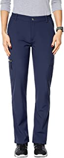 Nonwe Women's Outdoor Water-Resistant Fleece Lined Hiking Cargo Snow Pants