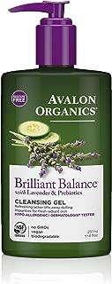 Avalon Organics Brilliant Balance Cleansing Gel, 8 oz.